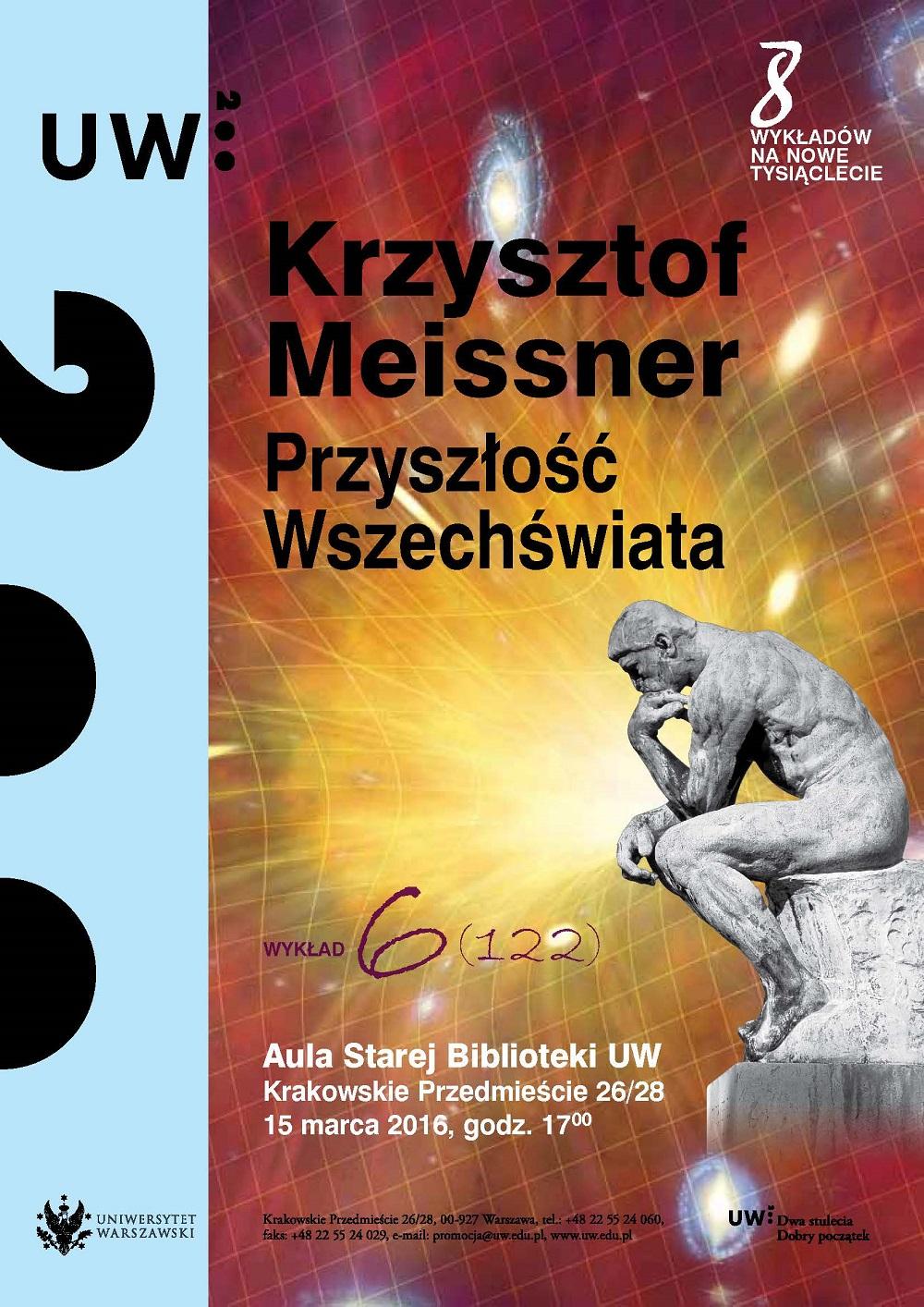 8 Wykładów na Nowe Tysiąclecie – prof. Krzysztof Meissner