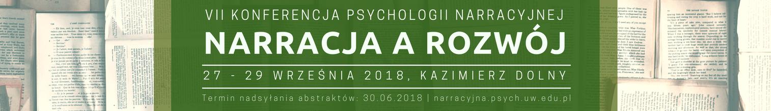 VII Konferencja Psychologii Narracyjnej