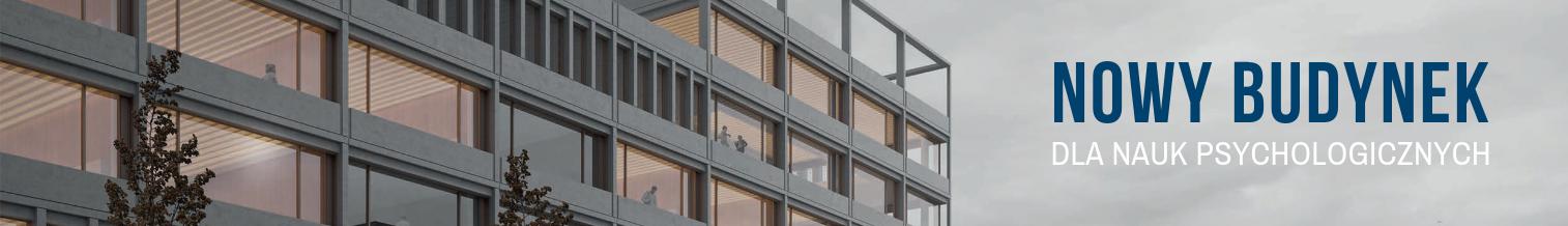 Nowy budynek dla nauk psychologicznych ma projektanta