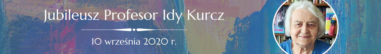 Jubileusz Profesor Idy Kurcz – 10 września 2020 r. (spotkanie online)