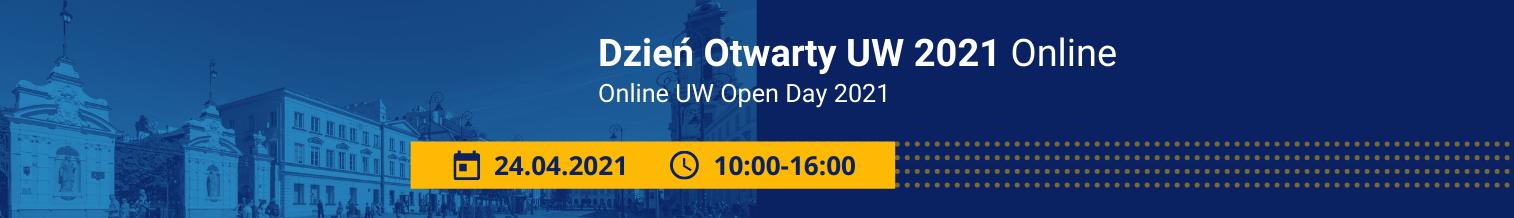 Dzień Otwarty UW 2021 Online